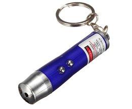 Mini ficklampa med 3 funktioner