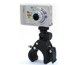 Handtagsstöd för digitalt foto och videokamera