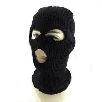 Svart Ski Mask