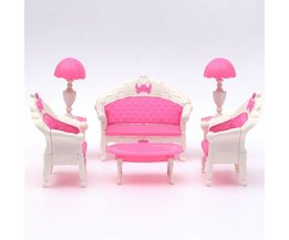Pink Dollhouse Living Room Furniture