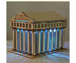 Temple Of Zeus DIY 3D Pussel Trä