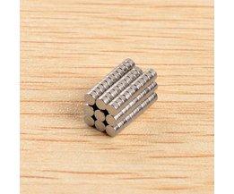 Extra starka magneter med 100 stycken