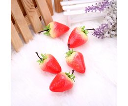 Plastfrukt för dekoration