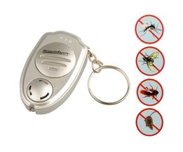 Ultraljud Elektronisk Anti Mosquito Nyckelring