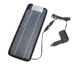 Solar batteri för bil
