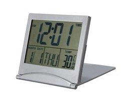 Digital klocka med kalender och etc.