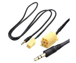 AUX-kabel för Fiat Grande Punto