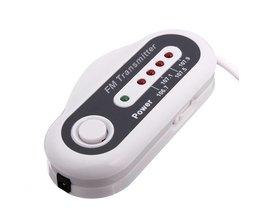 4-kanalig FM-sändare Billaddare för iPod, MP3 eller CD-spelare