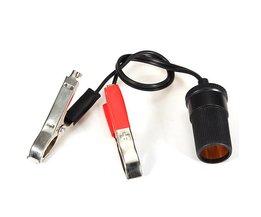 Batteriterminaler med cigarettändaruttag
