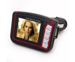 Bil MP3 MP4-spelare med FM-sändare och minne