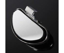 Universal Silver Blind Spot Mirror För Bil