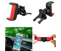 Antislipjusterbar telefonhållare för bil