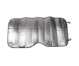 Solskydd för vindrutebil Silverfoil