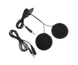 Hjälm Headset Med Stereohögtalare