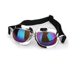 Motorcykelglasögon och Scooterglasögon med tonade objektiv
