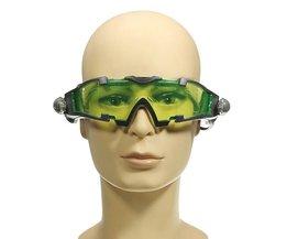 Green Night Vision Glasögon