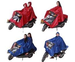 Big Rain Poncho för motorcyklar (cyklar)
