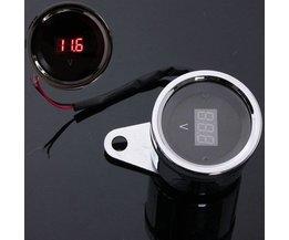 Universal Voltmeter För Motorcykel LED Light