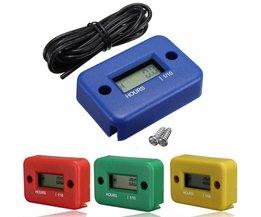 Timmätare för motor och liknande med digital skärm