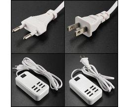 USB-laddare med 6 portar