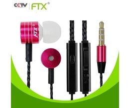 FTX-bashörlurar med mikrofon JTX F801