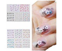 Nail Art Flower Sticker
