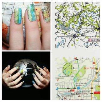 Kortklistermärken För Nail Art