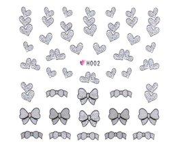 Fjärilspets Nail Stickers