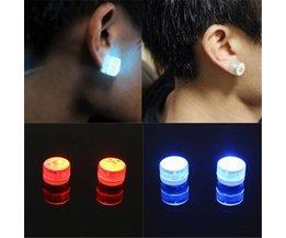 LED magnetiska örhängen