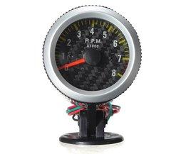 Bilhastighetsmätare RPM