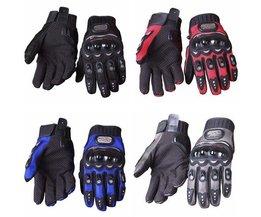 Handskar för motor