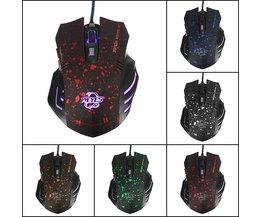 WEYES Optisk USB 1600 DPI Gaming Mouse