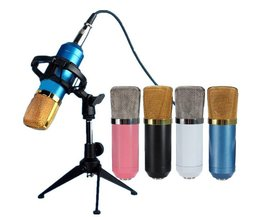 Professionell mikrofon med stötdocka BM700