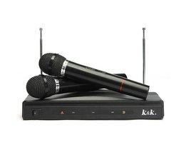 Trådlösa mikrofoner med mottagare