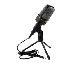 Studio Mikrofon Med Stativ
