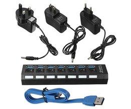 USB-uttag 7 Portar