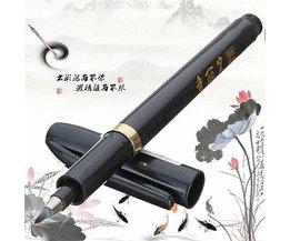 Kinesisk kalligrafi Svart