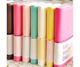 Färgrik dagbok