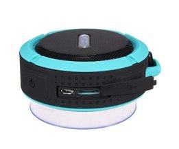 Vattentät Bluetooth-högtalare med mikrofon