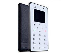 AIEK X6 Mobiltelefon Ultra Thin