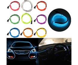 LED Strip 1M För Bil