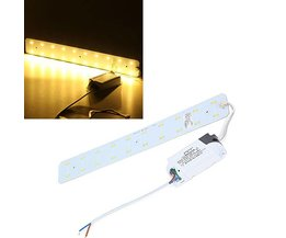 10W LED Strip För Tak Med Förare