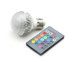 Fjärrlampa med fjärrkontroll