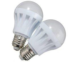 E27 5W LED-lampa