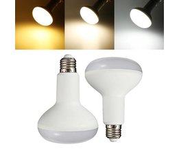 E27 15W LED-lampa med vitljus