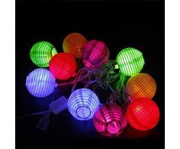 LED-kabel 10 papperslampor