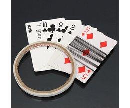 Card Trick Spinner tråd med band
