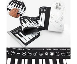 Roll-Up Keyboard och piano i en