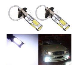 Automatisk lampa för H3 Montering
