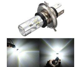 H4 LED-lampa för bil